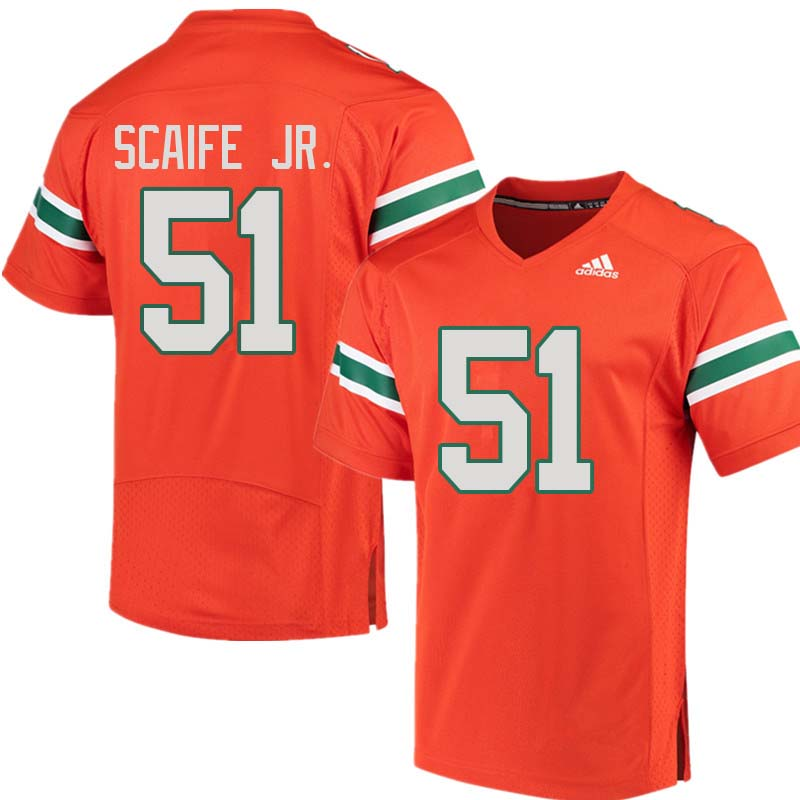 detailed look 3061e 2231a Delone Scaife Jr. Jersey : Official Miami Hurricanes College ...