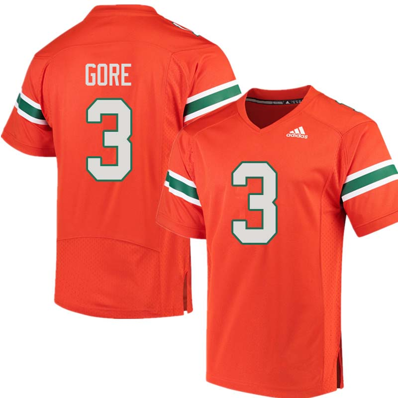 timeless design ec8ae b4f63 Frank Gore Jersey : Official Miami Hurricanes College ...