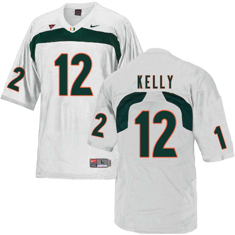 brand new af029 cff2b Jim Kelly Jersey : Official Miami Hurricanes College ...
